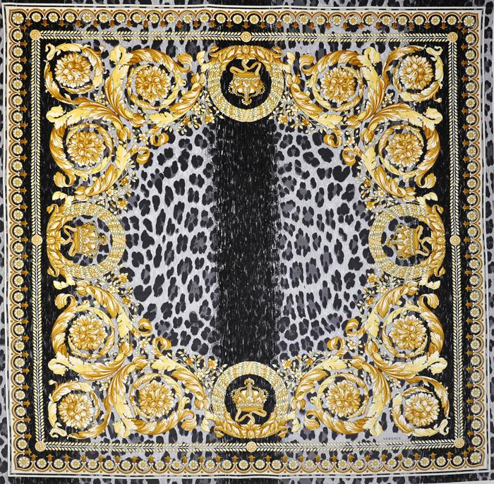 versace crown vanity velvet fabric panel 54 ebay. Black Bedroom Furniture Sets. Home Design Ideas